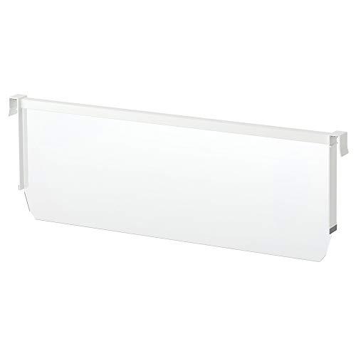 MAXIMERA Trennwand für hohe Schublade 80 cm weiß/transparent