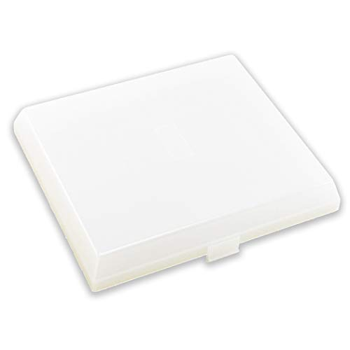 CalPalmy AP5609551 The Exact Replacement Compatible with Nutone, Broan, Kenmore (S97011813) Bathroom Vent Fan Light Lens Cover with 8'' x 7'' – Made from Heavy Duty Plastic (Upgraded Version)