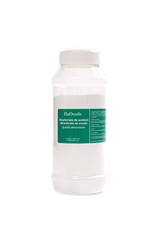 Bicarbonate de Soude 1kg - Qualité alimentaire - EluOecolo Made in France