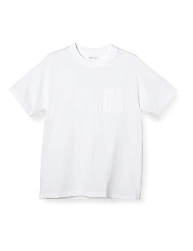 [ボディワイルド] 半袖Tシャツ クルーネック Tシャツ ヘビーウエイト 超厚手 綿100%1天竺 ポケット付 BW521...