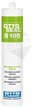 OTTO-CHEMIE OTTOSEAL S105 alternatives Sanitär 310ml C10 bahamabeige Silikon