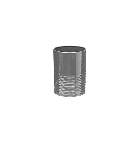 Pot à Ustensiles Et Egouttoir - 11 X 15 Cm - Métal - Gris