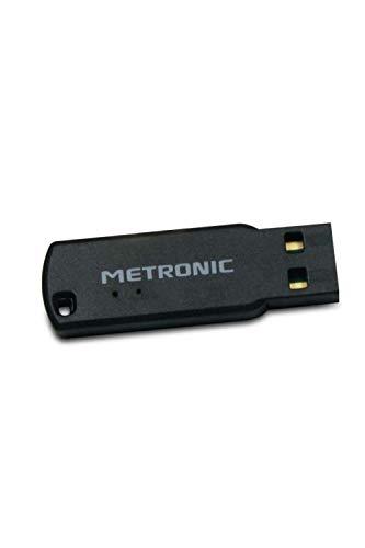 Metronic 477040 - Mini receptor Bluetooth con toma USB, negro