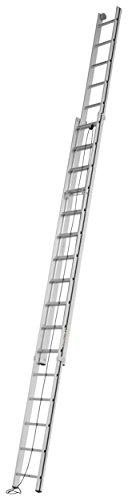 HYMER ALU-PRO 7005132 Seilzugleiter zweiteilig, 2x16 Sprossen