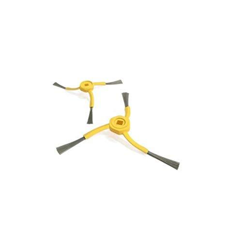 FMN-Home, Aspirapolvere Robot Filtro Spazzola Laterale in Tessuto per D-I-B-E-A D500 PRO Robot Aspirapolvino (Colore : Giallo)