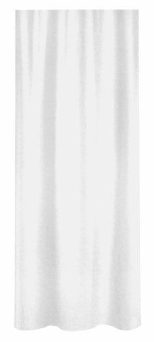 Spirella Primo douchegordijn, textiel/polyester, 180 x 180 cm, wit