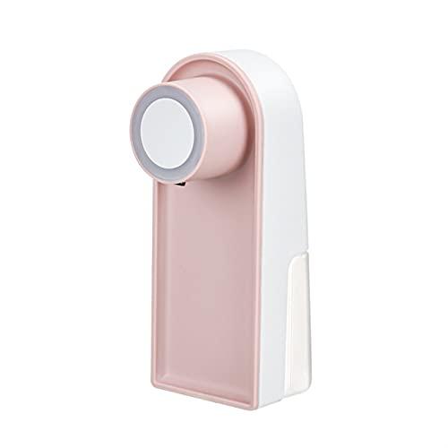 Dispensador de jabón Inteligente, sin Contacto, dispensador de jabón con Sensor automático, con Sensor de Infrarrojos, 210ml, Apto para restaurantes/oficinas/hoteles/hospitales (Color : Pink)