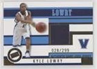 Kyle Lowry #/299 (Basketball Card) 2006 Press Pass - Jerseys - Gold #JC/KL