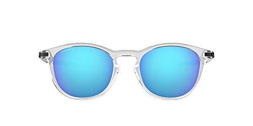Oakley 0OO9439 Sonnenbrille, Schwarz (Polished Clear), 50