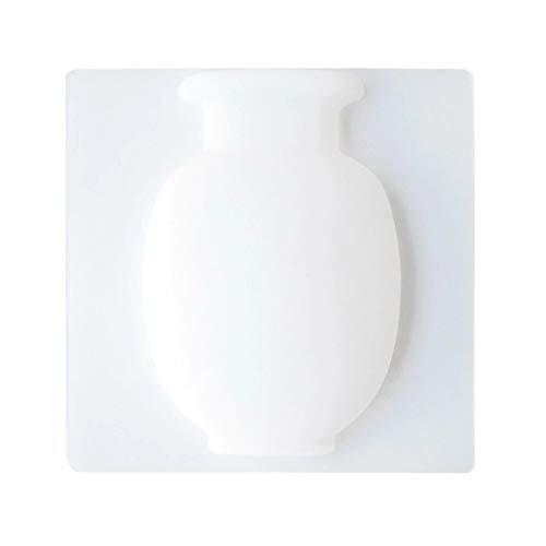 Macetero mágico de silicona para colgar en la pared del frigorífico, contenedor de almacenamiento de botellas para decoración del hogar, fácil de quitar.