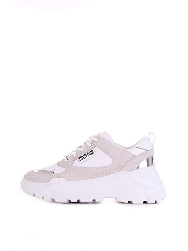 Versace Jeans Couture E0vwasc2 Zapatillas Moda Mujeres Blanco - 41 - Zapatillas Bajas Shoes