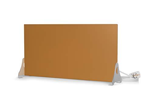 Magma® Infrarotheizung Metallic Standversion - Deutscher Hersteller seit 1992 - Magmaheizung mit 10 Jahren Garantie (400 Watt / 600 x 300, Gold)