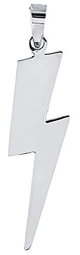 ENTREPLATA Colgante Mujer Plata de Ley 925 Rayo 3 cm.