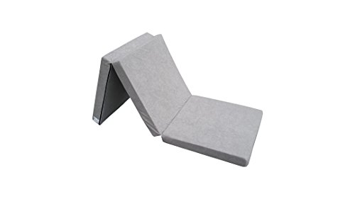 Folding mattresses z bed for adult and kids 195x65x8 cm (Grey 1008)