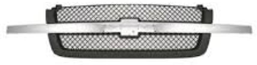 OE Replacement Chevrolet Silverado Pickup Driver Side Grille Assembly (Partslink Number GM1200474)