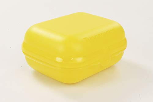 TUPPERWARE To Go Twin gelb Brotdose Box Behälter Dose Brot Größe 3