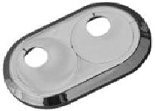 Recoval Floron embellecedor radiador rigido 15mm para 2 Tubos Cromado (pack2uds)