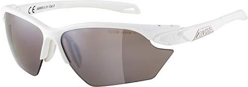 ALPINA, TWIST FIVE HR S HM+ occhiali sportivi, white matt, one size, Unisex-Adult
