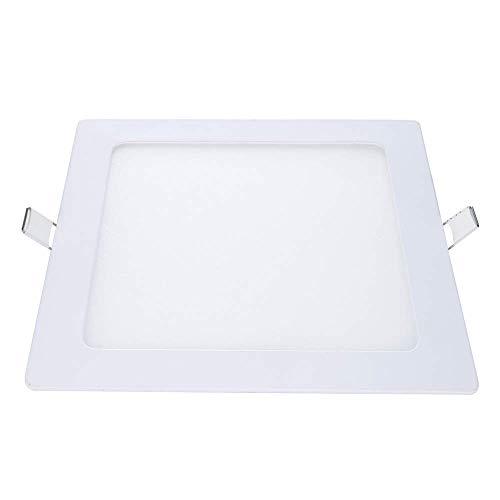 Luminária Painel Plafon LED 12W de Embutir 17x17 cm, Luz Branco Frio , 857461371,Avant,