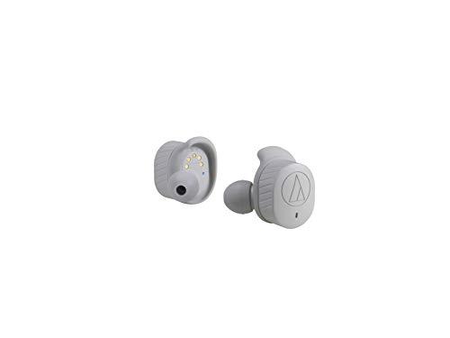 Audio-Technica ATH-SPORT7TW AUTÉNTICOS Auriculares Intra AURALES INALÁMBRICOS - Gris