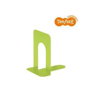 (まとめ)TANOSEE ブックエンド T型 大 マスカットグリーン 20組 〈簡易梱包