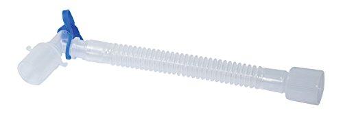 Tubusverlängerung Gänsegurgel mit Absaugport und Drehkonnektor