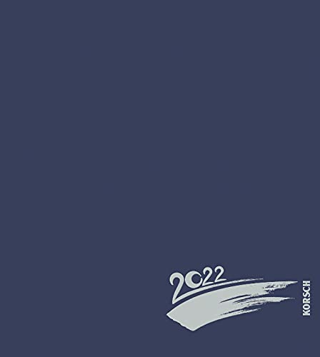 Foto-Malen-Basteln Bastelkalender dunkelblau 2022: Fotokalender zum Selbstgestalten. Do-it-yourself Kalender mit festem Fotokarton. Edle Folienprägung. Format: 21,5 x 24 cm