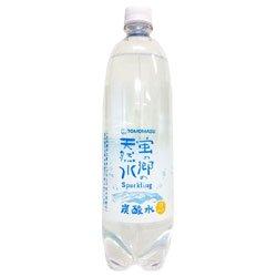 友桝飲料 蛍の郷の天然水スパークリング 1Lペットボトル×15本入×(2ケース)