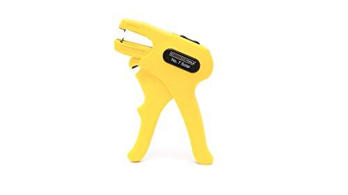 WEICON 51002007 Abisolierzange No. 7 Solar für 1,5-6,0 mm² Solarkabel mit Seitenschneider, schwarz/gelb