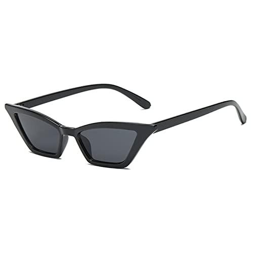 Aiong Gafas de Sol, Gafas de Sol Moda Vintage Cat Eye Gafas de Sol Marco pequeño UV400 Parasoles