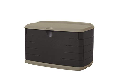 Rubbermaid Roughneck Medium Resin Weather Resistant Outdoor Garden Storage Deck Box -  2084367