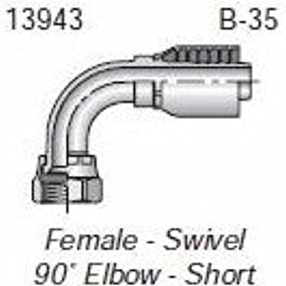 Parker HF 13943-06-06-13943-6-6 Fitting 3/8