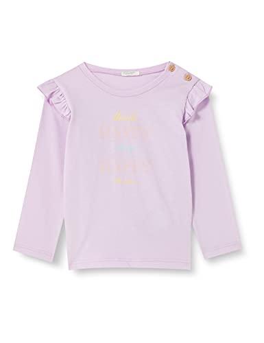 United Colors of Benetton T-Shirt M/L 3I1XMM27S Camiseta, Orchid Bloom 054, 68 cm para Bebés