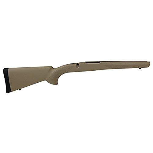 Hogue 98300 Rubber OverMolded Stock for Mauser 98, Militarysporter, Actions Pillar Bed Stock, Flat Dark Earth