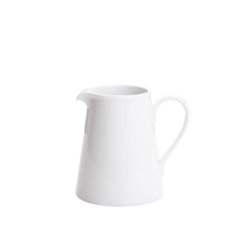 ARCTIC Fairmont & Main Jarra (cerámica vidriada, tamaño Mediano), Color Blanco