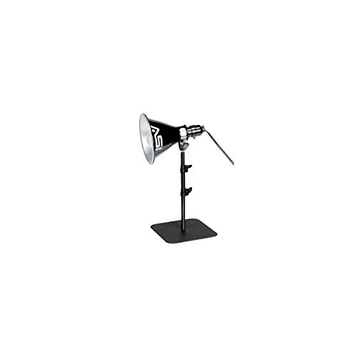 """Smith-Victor Tabletop/Background Light Stand, 18"""" Telescoping Tube with Base Plate (Light Fixture not Included)"""