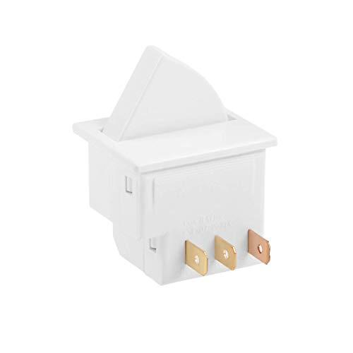 YeVhear - Interruptor de luz para puerta de frigorífico momentáneo 1NC 1NO AC 250V 0.5A