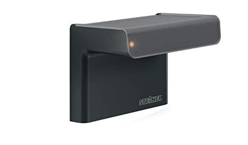 Steinel 007584 Bewegungsmelder iHF 3D schwarz 160° intelligenter Hochfrequenz-Sensor, 1-7 m Reichweite, in 3 Richtungen einstellbar, inkl. Fernbedienung, 2000 W, 230 V