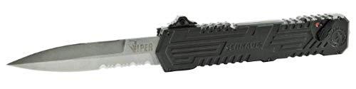 Viper 3, OTF, Black Handle