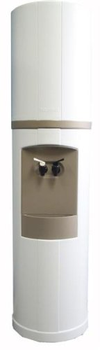 Fahrenheit Free-Standing Cold, and Room Temperature Water Cooler Finish: White with Galveston Gray