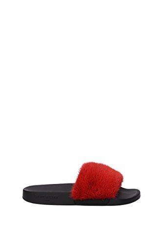 Givenchy Flip-Flops und Holzschuhe Damen - Fell (BE08209806600) 39 EU