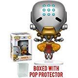 Funko Pop! Games: Overwatch - Zenyatta Vinyl Figure (Includes Pop Box Protector Case)