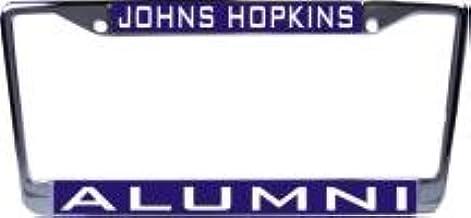 WinCraft Johns Hopkins University L312164 Inlaid Metal LIC Plate Frame