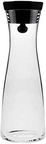 YONGYONGCHONG Tetera de 1,8 l/litro jarra de agua de borosilicato, jugo de flores de vidrio, hervidor de agua de gran salida, jarra de agua resistente al calor, jarra de café y jugo (tamaño: 1200 ml)