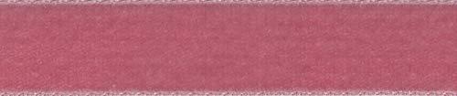 Cinta de terciopelo vintage para costura, decoración floral, regalos y moda – rosa de 36 mm de ancho x 1 metro