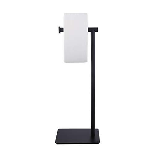 KES Matte Black Toilet Paper Stand Bathroom Freestanding Toilet Paper Holder, SUS304 Stainless Steel, BPH286S1A-BK