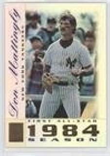 Don Mattingly (Baseball Card) 2003 Topps Tribute - Perennial All-Star Edition - [Base] #2