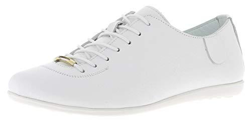 Andrea Conti 1561508, Zapatillas Mujer, Blanco (Weiß 001), 39 EU