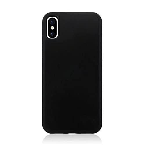 ZHANGCHEN La Cubierta Protectora de Pluto es Adecuada para iPhone XS MAX 6 7 8 Plus 11 12 Pro MAX SE Nano Carcasa de adsorción antigravedad Funda para teléfono móvil, Calcetines para teléfono móvil