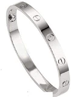 سوار الحب من الفضة بتصميم كارتير - متوسط